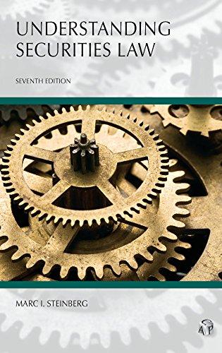 Pdf Law Understanding Securities Law (Carolina Aademic Press Understanding)