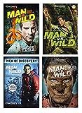 Man vs Wild Collection 4-Pack - Man vs. Wild: Close Calls/ Man vs. Wild: Special Edition/ Man vs Wild: Stranded Around the World/ Man VS. Wild: Top 25 Man Moments