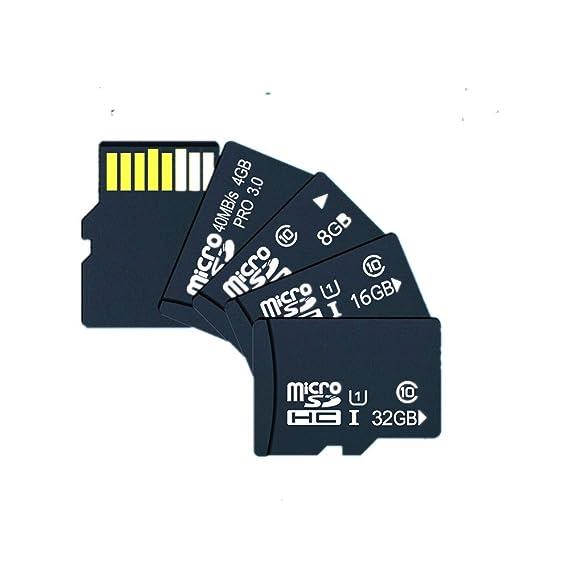 Amazon.com: QIANRUNHE Tarjeta de Memoria de 32 GB de alta ...