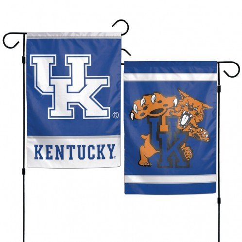 NCAA University of Kentucky 12x18 Inch 2-Sided Outdoor Garde