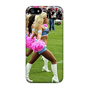 Snap-on Tennessee Titans Cheerleaders Case Cover Skin Compatible With Iphone 5/5s
