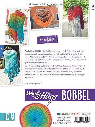 Woolly Hugs Bobbel Stricken Tücher Ponchos Und Schals Aus