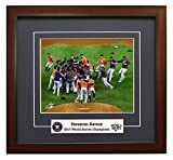 The Houston Astros, On The Mound Celebration Moments After Winning The 2017 World Series Framed 8x10 Photo Picture. (mound)