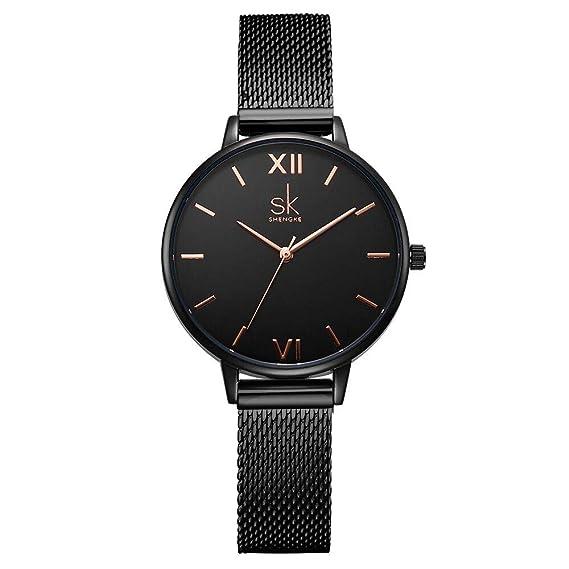 d273f606dde3 Shengke - Reloj de Pulsera para Mujer
