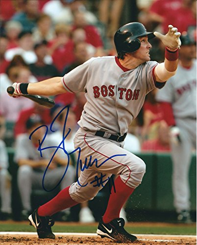 Autographed Bill Mueller 8x10 Boston Red Sox Photo ()