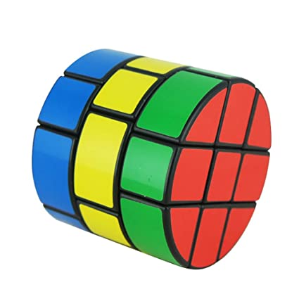Alician 3 X 3 Column Shape Magic Cube Educational Puzzle Toy for Kids