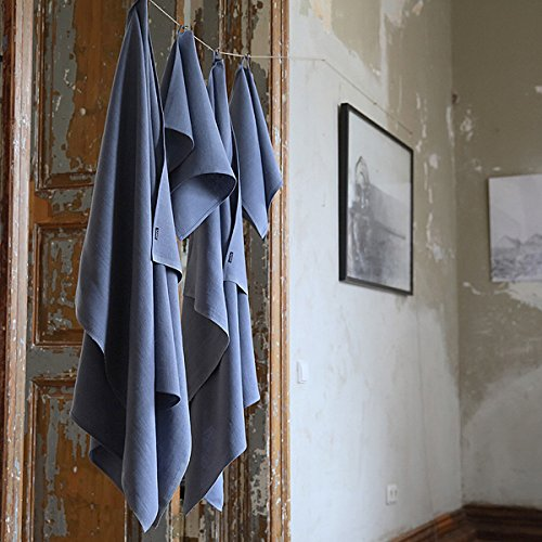 Chambray Linen Towels Set Lara