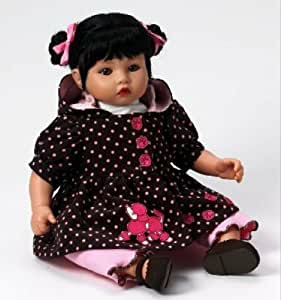 """Alexander Doll Poodles and Polka Dots - Asian Baby 14"""" Baby Alexander Collection"""