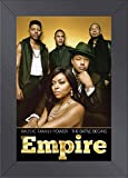 Empire Cast TV Show Art Print — TV Show Memorabilia — 11x17 Poster FRAMED, Vibrant Color, Features Terrence Howard, Taraji P. Henson.
