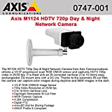 Axis Communications 0747-001 M1124 Network Surveillance Camera, White