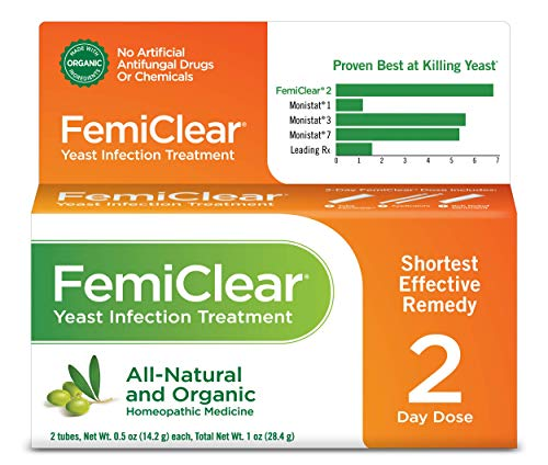 FemiClear All-Natural & Organic Yeast Infection Treatment