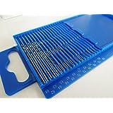 GC - 20pc HSS Mini Micro Twist Drill Bit Set Wire Gauge Index 61-80 / 0.3-1.6mm In A Plastic Box *US FAST FREE SHIPPER*