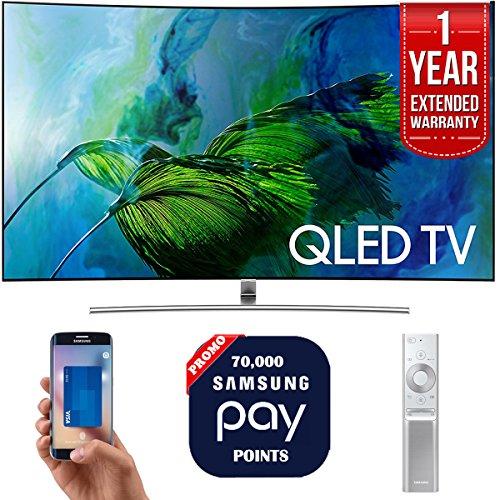 "Samsung QN65Q8C 65"" 4K UHD Smart QLED TV + 1 Year Extended W"