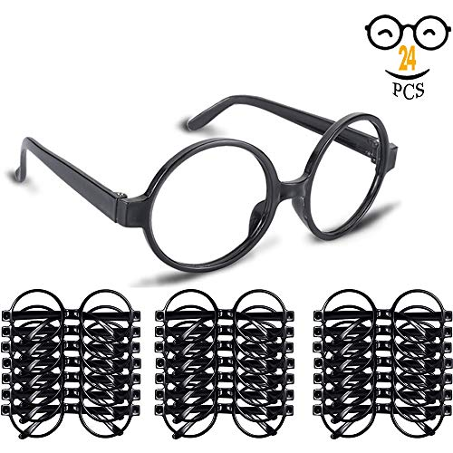 Wizard Glasses with Round Frame No Lenses for