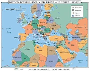 Amazon Com Universal Map World History Wall Maps Post Cold War