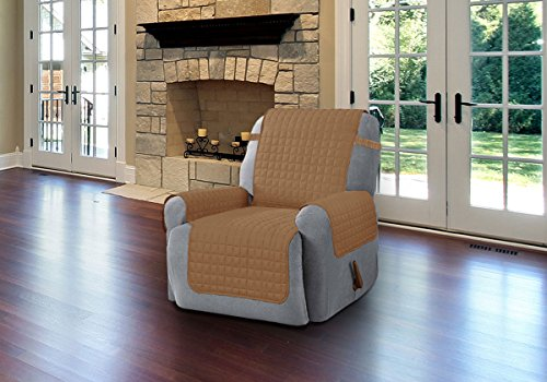 Chair Covers For Living Room Dining Microfober Recliner Camel Pet Couch Cover Ebay