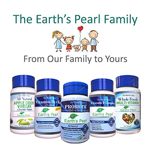 60 Day Supply – Earth's Pearl Probiotic & Prebiotic – More Effective Than Capsules – Advanced Digestive and Gut Health for Women, Men and Kids - Billions of Live Cultures by Earths Pearl Probiotics (Image #6)