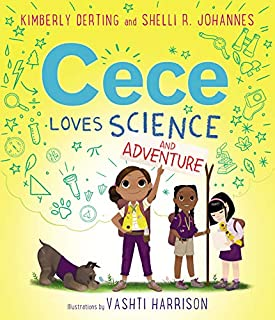 Book Cover: Cece Loves Science and Adventure