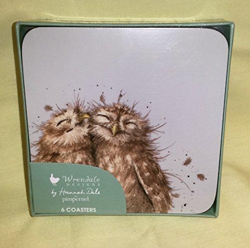 - Wrendale Owl Coasters, Set of 6