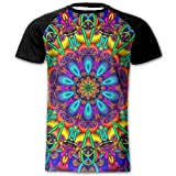 AOBOER Men's Fashion Short Sleeves Tshirt Printed Tees