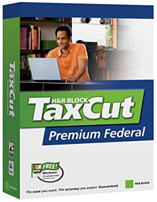 H&R Block Taxcut 2006 Premium Federal