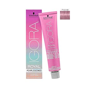 Igora Royal Pearlescence Coloración Permanente en Crema para el Cabello P9.5-89 - 60 ml.