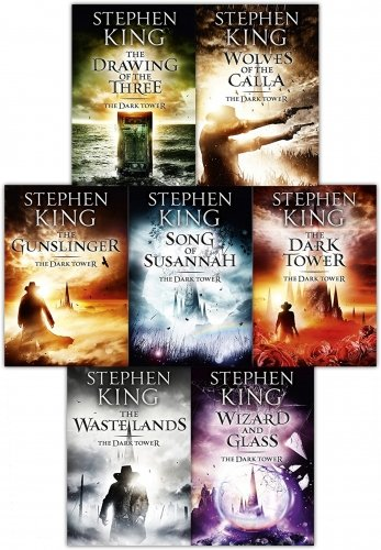 Dark Collection (Dark Tower Series: Complete Set (Books 1-7) :Gunslinger the Drawing of the Three the Wastelands Wizard and Glass Wolves of the Calla Song of Susannah the Dark Tower )