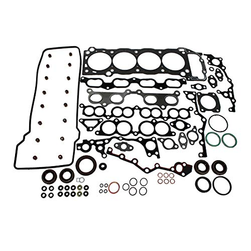 (DNJ HGS939 Graphite Head Gasket Set for 1994-2004 / Toyota / 4Runner, T100, Tacoma / 2.4L, 2.7L / DOHC / L4 / 16V / 2438cc, 2694cc / 2RZFE, 3RZFE)