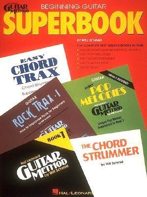 [(The Hal Leonard Beginning Guitar Superbook)] [Author: Will Schmid] published on (July, 1995) (Hal Leonard Publishing)