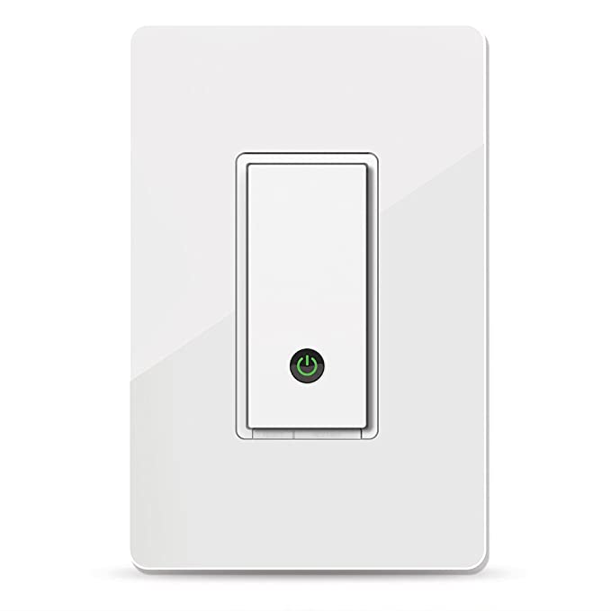 amazon com wemo light switch, wifi enabled, works with alexa andimage unavailable image not available for color wemo light switch