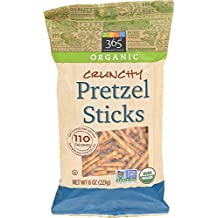 365 Everyday Value, Organic Crunchy Pretzel Sticks, 8 Ounce