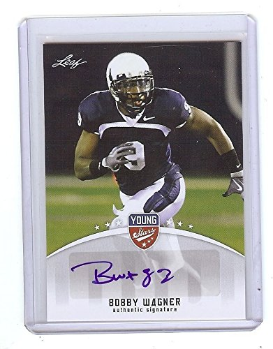 Leaf BOBBY WAGNER 2012 YOUNG STARS CERTIFIED AUTOGRAPHED for sale  Delivered anywhere in USA