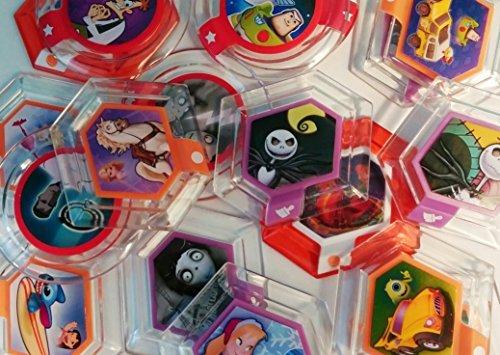 5 Random Power Discs from Disney Infinity Series 2 set