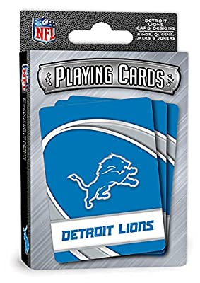 """MasterPieces NFL Sports Playing Cards, Blue, 4"""" X 0.75"""" X 2.625"""""""