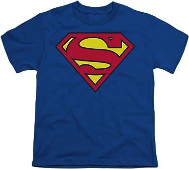 DC Comics Boys Superman Logo Sweatshirt