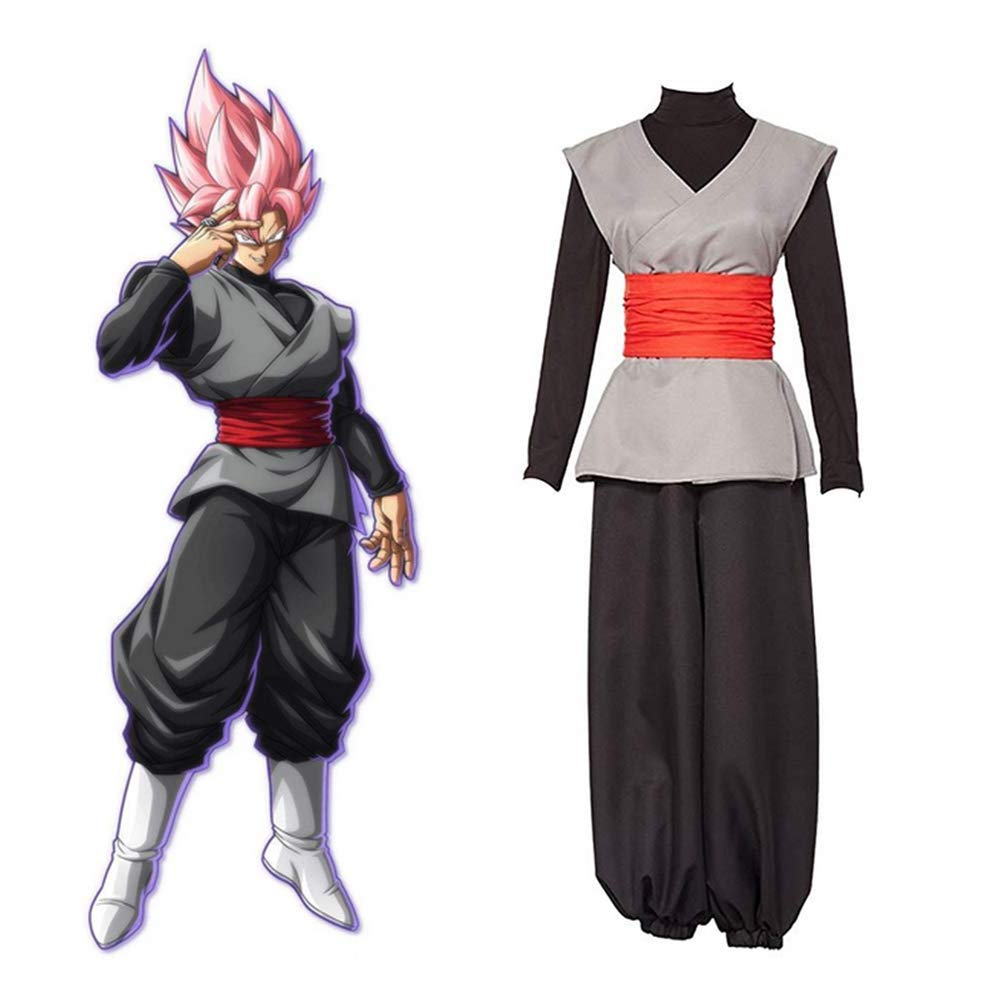 GGOODD Anime Dragon Ball Super Goku Black Cosplay Costume ...