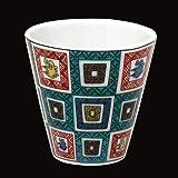 KUTANI YAKI(ware) Sake Cup Old-Kutani