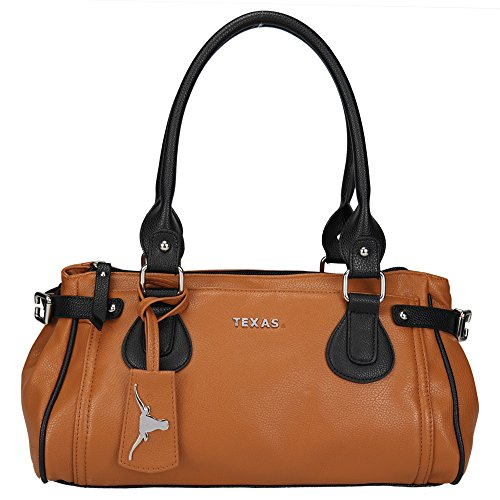 NCAA Texas Longhorns Baywood Academic Handbag, Small by Sandol