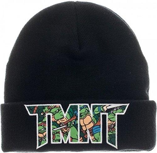Teenage Mutant Ninja Turtles TMNT Adult Cuff Beanie Hat