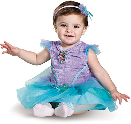 Disney Baby Girls' Ariel Infant Costume, Turquoise 6 to 12 Months ()