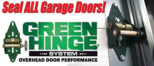 Garage Door Hinge Spring Loaded Self Sealing Energy Saver 4 Panel Commercial MFG# C4416-40 by Green Hinge System (Image #8)