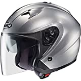 HJC Closeouts IS-33 Open-Face Motorcycle Helmet (CR Silve...