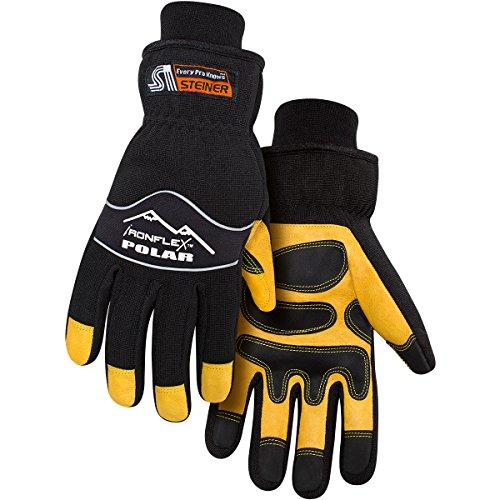 Steiner P245-L Winter Work Gloves, Polar Ironflex, Heatloc/Waterproof Lined,