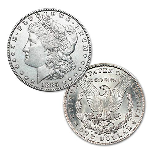 (1884 O Morgan Silver Dollar $1 Brilliant Uncirculated)