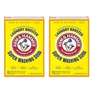 Church & Dwight Co 03020 Arm & Hammer Super Washing Soda 55 oz. (Pack of 2)