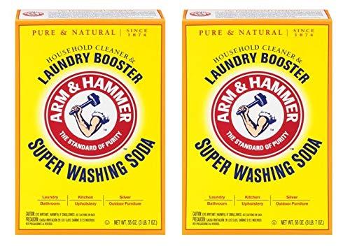 Church & Dwight Co 03020 Arm & Hammer Super Washing Soda 55 oz. (Pack of - Super Washing Soda