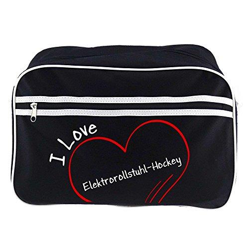 Diseño Love Bandolera Bolso Negro De hockey Silla Eléctrica I Ruedas SxOrSwaI