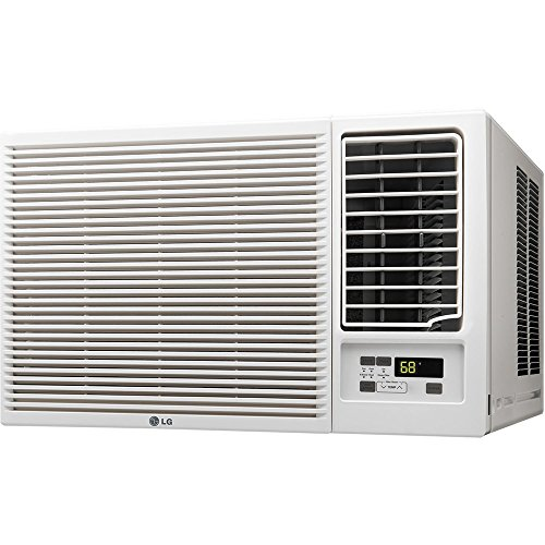 LG 12,000 BTU 230V Window-Mounted AIR Conditioner with 11,200 BTU Heat Function - Lg Air Conditioning Units