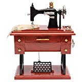 FidgetGear Vintage Mini Treadle Sewing Machine Mechanical Music Box