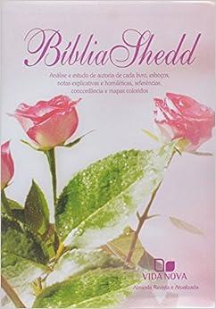 Bíblia de Estudo Shedd - Capa Feminina